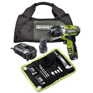 Rockwell 3RILL 3-in-1 Impact, Drill, and Driver 26-piece Kit (RK2515K2.1)