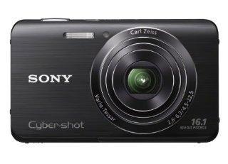 Sony Cyber-shot DSC-W650 16.1MP Digital Camera with 5x Zoom (Black)