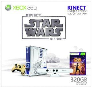 Xbox 360 320GB Kinect Star Wars Limited Edition Bundle
