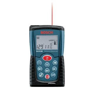 Bosch DLR130 Digital Distance Measurer Kit (DLR130K)