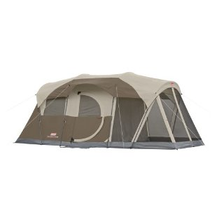 Coleman WeatherMaster Screened 6 Tent with Hinged Door
