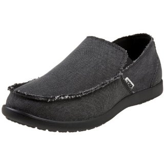 Crocs Santa Cruz Canvas Slip-On Men's Shoes (12 Color Options)