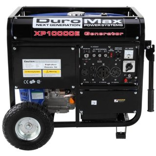 DuroMax XP10000E Portable Generator with Wheel Kit And Electric Start