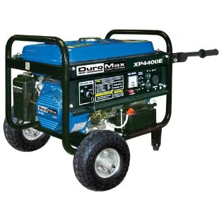 DuroMax XP4400E Electric Start Gas Generator with 4400 Watt 7.0 HP OHV 4-Cycle Engine
