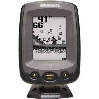 Humminbird PiranhaMAX 170 Fishfinder with Dual-Beam Transducer