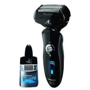 Panasonic ES-LV81-K Arc 5 Multi Flex Wet/Dry Nanotech Shaver with Vortex Cleaning System