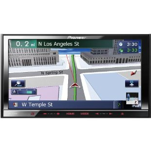 Pioneer AVIC-Z140BH In-Dash 7 Touchscreen Navigation AV Receiver