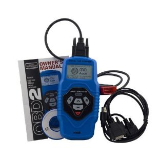 Roadi RDT55 Diagnostic Trouble Code Reader for Volkswagen and Audi Vehicles with OBDII Vehicle Live Data