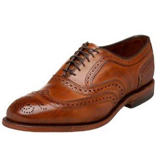 Allen Edmonds McAllister Wing Tip Shoes (Walnut)