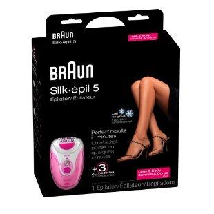 Braun Silk Epil 5 Epilator With Ice Glove (SE 5280)