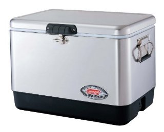 Coleman Steel-Belted Cooler (54 Qt., Stainless-Steel)