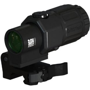 EOTech G33 Magnifier with Switch to Side Mount (G33.STS, Black)