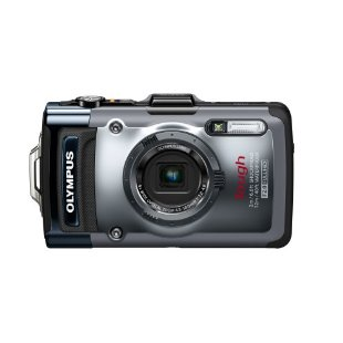 Olympus Tough TG-1 iHS 12MP Waterproof Digital Camera with 4x Zoom