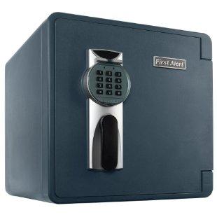 First Alert 2092DF Waterproof Fire Resistant Digital Safe (1.3 cu .ft.)