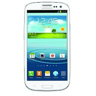 Samsung Galaxy S III 4G Android Phone, White 16GB (AT&T)