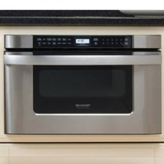 Sharp KB-6524PS Insight Pro Stainless 24 Microwave Drawer Oven