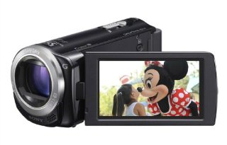 Sony HDR-CX260V HD Handycam Camcorder with 30x Zoom and 16GB Embedded Memory