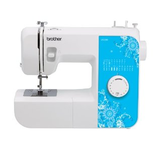 Brother LX2500 Compact and Lightweight Sewing and Mending Machine with 17 Stitches, 4 Step Buttonholer