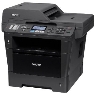 Brother MFC-8710DW Wireless Monochrome Printer with Scanner, Copier and Fax