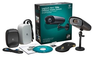 Logitech Alert 750e Outdoor Master Security Camera System with Night Vision (961-000337)