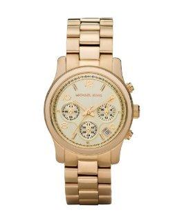 Michael Kors Gold  Runway Chronograph Watch (MK5055)