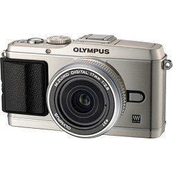 Olympus PEN E-P3 12.3MP Live MOS Camera with 17mm Lens (Silver)