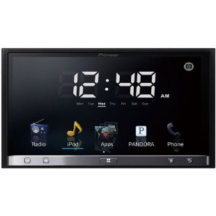 "Pioneer SPH-DA100 AppRadio 2 Car Stereo with 7"" Screen and iPhone 4 or Android App Control"
