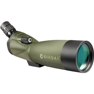 Barska Blackhawk 20-60x60 Angled Spotting Scope with Tripod, Soft Case, and Hard Case (AD11284)