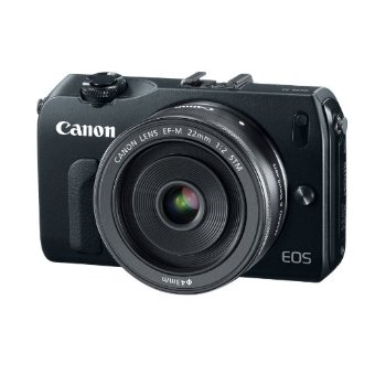 Canon EOS M 18MP SLR Camera w/ 22mm STM f/2 Lens