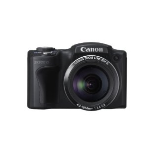 Canon PowerShot SX500 IS 16MP Digital Camera with 30x IS Zoom