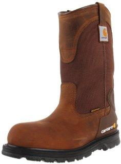 Carhartt CMP1200 11 Wellington Steel Toe Work Boot (Men's Bison Brown Oil Tan)