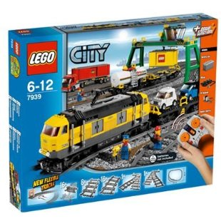 LEGO City Cargo Train (7939)