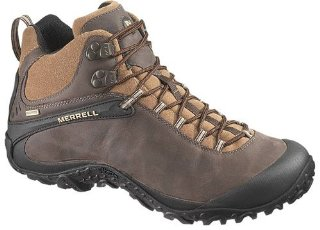 Merrell Chameleon4 Mid Waterproof Men's Hiking Boot (3 color options)