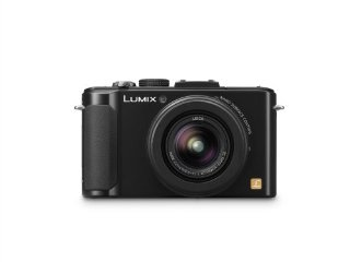 Panasonic Lumix DMC-LX7K 10.1 MP Digital Camera with 7.5x Zoom (Black)
