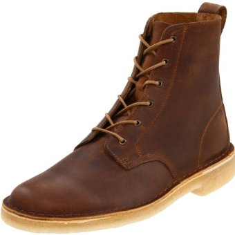 Clarks Desert Mali Boot (Men's Beeswax Leather)