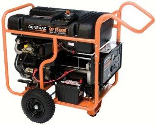 Generac GP15000E 22,500 Watt Portable Gas Powered Generator With Electric Start