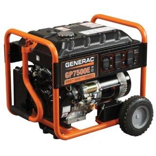 Generac GP7500E 9,375 Watt Generator with Electric Start