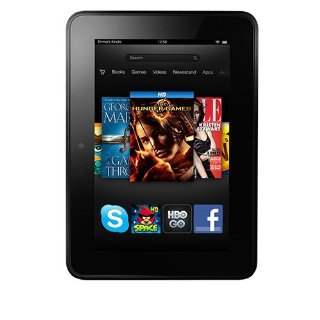 "Kindle Fire HD 7"" Wi-Fi, 16GB Tablet with Sponsored Ads Screensaver"