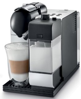 Nespresso Lattissima Plus Coffee, Espresso, Latte, and Cappuccino Machine (Silver)
