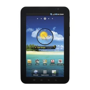 "Samsung Galaxy Tab SCH-i800 7"" Tablet with Wi-Fi, Verizon 3G (No Contract Required)"