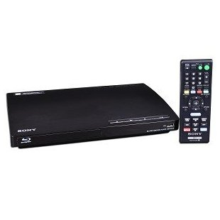 Sony BDP-BX18 Blu-ray / DVD Player with Wired Networking