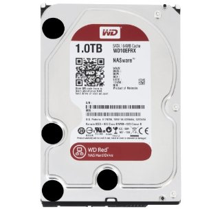 Western Digital WD Red 1TB Intellipower 64MB Cache NAS Hard Drive (WD10EFRX)