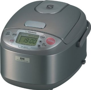 Zojirushi NP-GBC05 Induction Heating System 3-Cup (Uncooked) Rice Cooker and Warmer