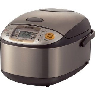 Zojirushi NS-TSC10 Micom 5.5-Cup (Uncooked) Rice Cooker and Warmer