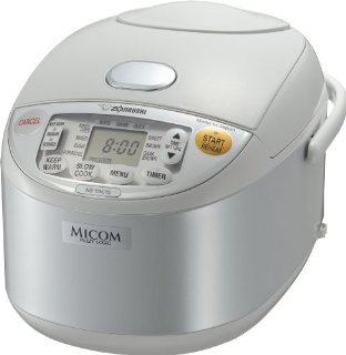 Zojirushi NS-YAC10 Umami Micom 5.5-Cup Rice Cooker and Warmer
