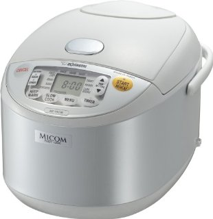 Zojirushi NS-YAC18 Umami Micom 10-Cup (Uncooked) Rice Cooker and Warmer