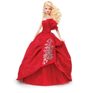 Barbie Collector 2012 Holiday Doll (Blonde)