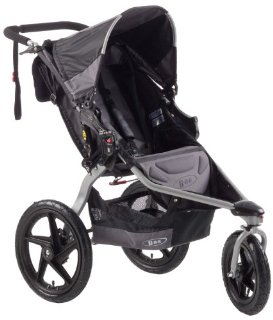 BOB Revolution SE Stroller (Black, Single)