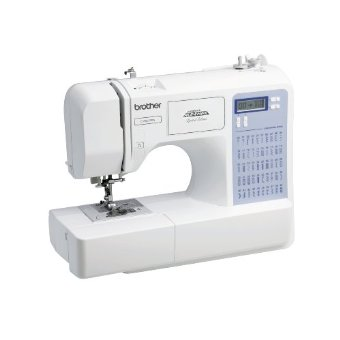 Brother CS5055PRW Limited Edition Project Runway Sewing Machine with 50 Built-in Stitches, 7 Presser Feet, and Foot Controller
