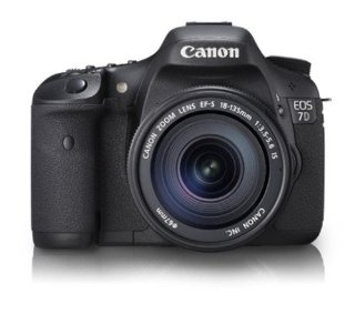 Canon EOS 7D 18 MP CMOS DSLR Camera Kit with 18-135mm f/3.5-5.6 IS UD Zoom Lens